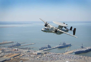 Northrop Grumman presenta il nuovo E-2D Advanced Hawkeye