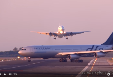 Video: UTair Aviation 767-300 NEAR MISS?
