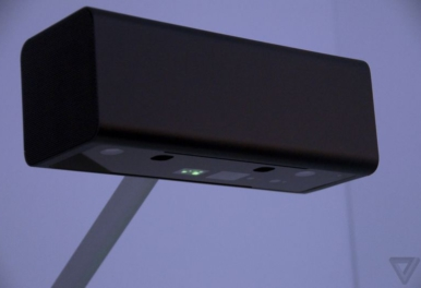 SONY: a prototype projector turns any tabletop into a touch-sensitive display