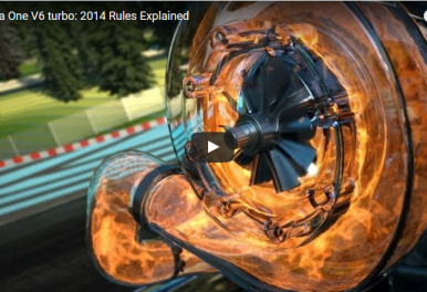 A must watch video: Formula One V6 turbo explained