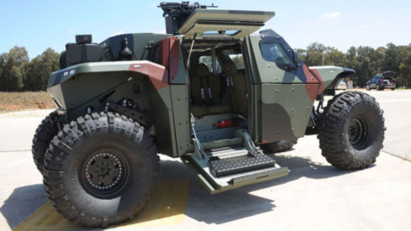 CombatGuard 4×4 combat armoured vehicle Extreme Rough Terrain IMI Israel Military Industries demo