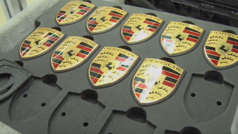 VIDEO: Take a look inside Porsche assembly line