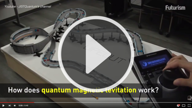 A must watch video: The Physics of Quantum Levitation
