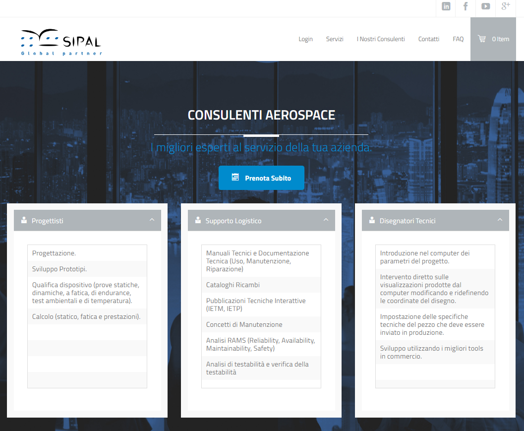 SIPAL E-commerce – Services
