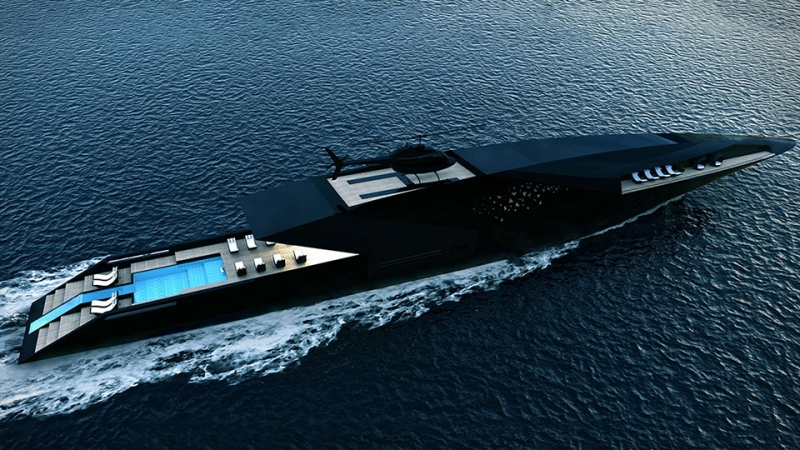 The new Black Swan superyacht by Timur Bozca