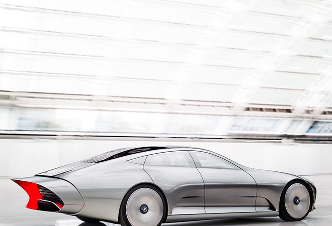 Mercedes IAA Concept (Intelligent Aerodynamic Automobile)